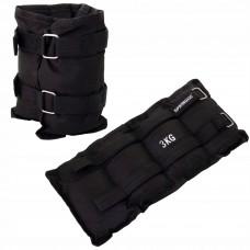 Обважнювачі-манжети для ніг та рук Springos 2 x 3 кг FA0008