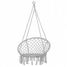 Підвісне крісло-гойдалка (плетене) Springos SPR0011 Grey