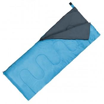 Спальний мішок (спальник) ковдра SportVida SV-CC0060 +2 ...+ 21°C R Sky Blue/Grey