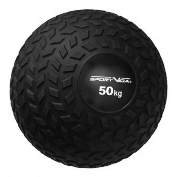 Слембол (медичний м'яч) для кросфіту SportVida Slam Ball 50 кг SV-HK0373 Black