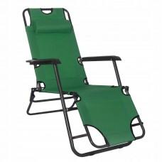 Шезлонг (крісло-лежак) для пляжу, тераси та саду Springos Zero Gravity GC0005