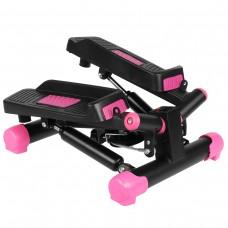 Степпер поворотний (міні-степпер)  SportVida SV-HK0358 Black/Pink