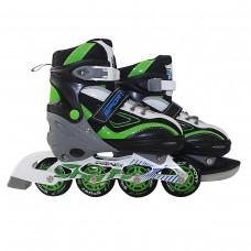 Роликові ковзани SportVida 4 в 1 SV-LG0036 Size 39-42 Black/Green/White