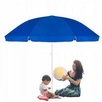Пляжна (садова) парасолька підсилена з регульованою висотою Springos 240 см BU0003