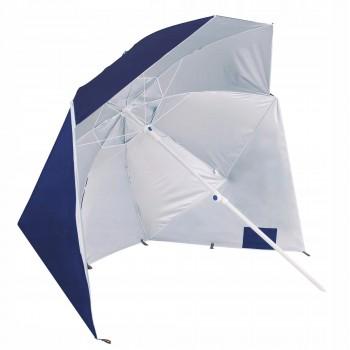 Пляжна парасолька-тент 2 в 1 Springos XXL BU0015