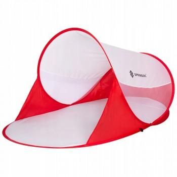 Пляжний тент Springos Pop Up 120 x 200 см PT012 Red/White