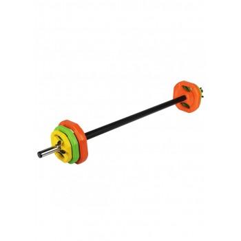 Штанга для аеробіки та фітнесу SportVida Body Pump (боді памп) 20 кг SV-HK0377