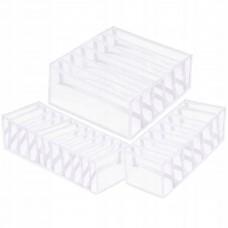 Набір органайзерів для зберігання (білизни, шкарпеток, аксесуарів) Springos HA3114