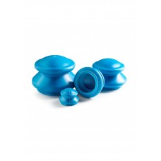 Вакуумні масажні банки 4FIZJO для тіла (китайські/атницелюлітні банки) 4 шт 4FJ0233