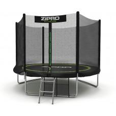 Батут із зовнішньою сіткою Zipro Fitness 252 см