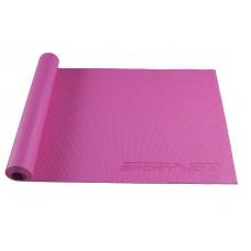 Коврик (мат) для йоги та фітнесу SportVida PVC 4 мм SV-HK0049 Pink