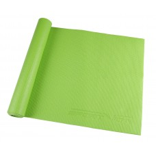Коврик (мат) для йоги та фітнесу SportVida PVC 4 мм SV-HK0050 Green