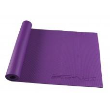Коврик (мат) для йоги та фітнесу SportVida PVC 6 мм SV-HK0052 Violet