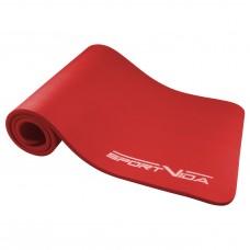 Коврик (мат) для йоги та фітнесу SportVida NBR 1.5 см SV-HK0073 Red