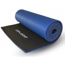 Коврик туристичний (каремат) SportVida XPE 1 см SV-EZ0008 Black/Blue
