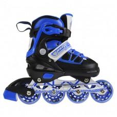 Роликові ковзани Nils Extreme NA0328A Size 30-33 Black/Blue