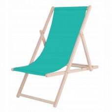 Шезлонг (крісло-лежак) дерев'яний для пляжу, тераси та саду Springos DC0001 TR